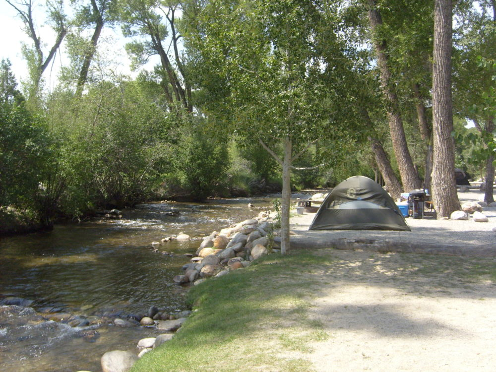 Accomodations Chalk Creek Campground Buena Vista