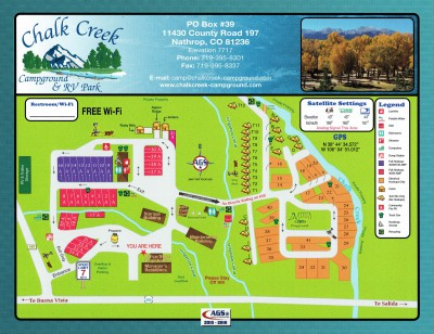 2015 Campground Map