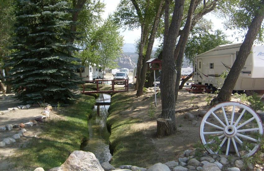 Chalk Creek Campground Buena Vista Salida Nathrop