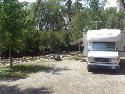 Chalk Creek Campground: Buena Vista, Salida, Nathrop Colorado